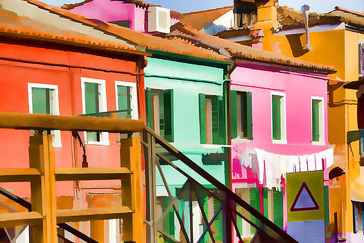 Colorful Venice Italy by Indiana Zuckerman