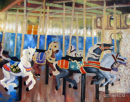 Colors of the Carousel by Tracy Roland