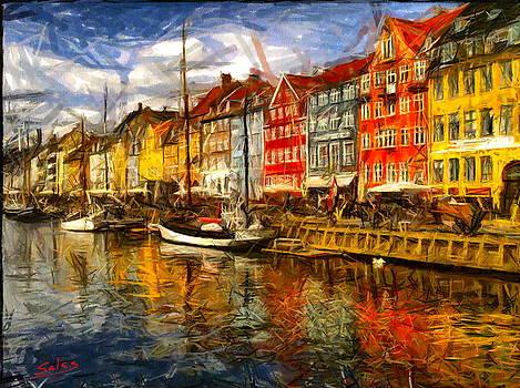 Colourful Copenhagen  by Francisco Sanchez Salas