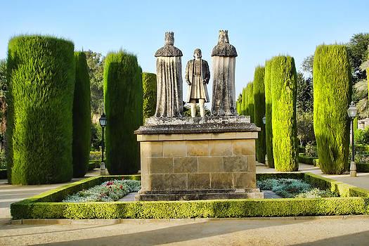 Columbus meets Spanish Royalty by Priit Einbaum