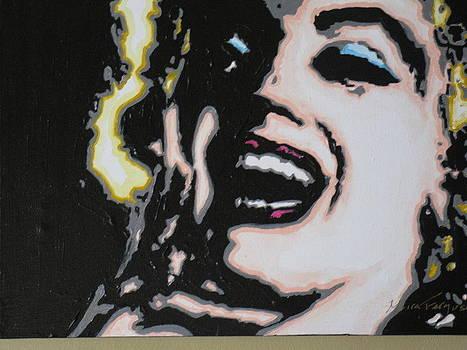 Comic Marilyn by Moira Ferguson
