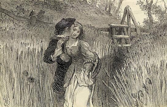 William Bell Scott - Comin Through the Rye