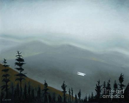 Coming Down Cascade by Robert Coppen