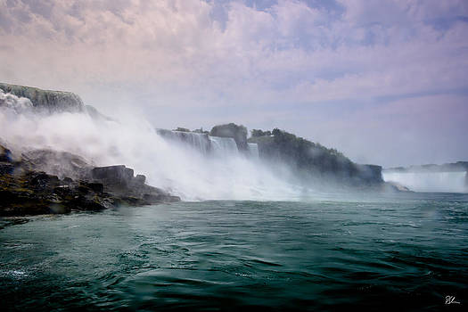 Coming Upon the Falls by Pat Scanlon