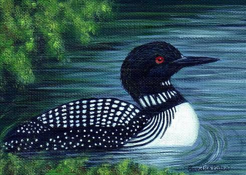 Common Loon by Sandra Estes