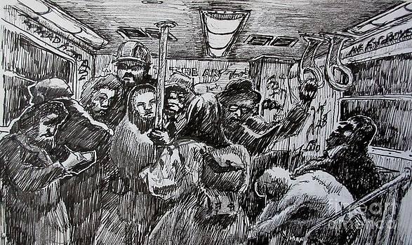 John Malone - Commuters on the Subway