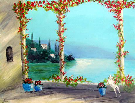 Como Italy by Larry Cirigliano