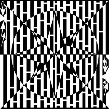 Compass Roze Maze by Yonatan Frimer Maze Artist