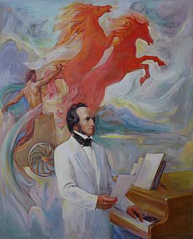 Composer Felix Mendelssohn by Svitozar Nenyuk