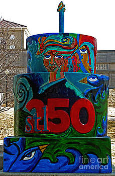 Genevieve Esson - Compton Hill Water Tower Stl250 Cake