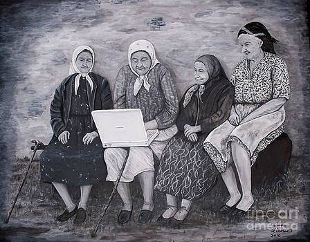 Computer Class by Judy Kirouac