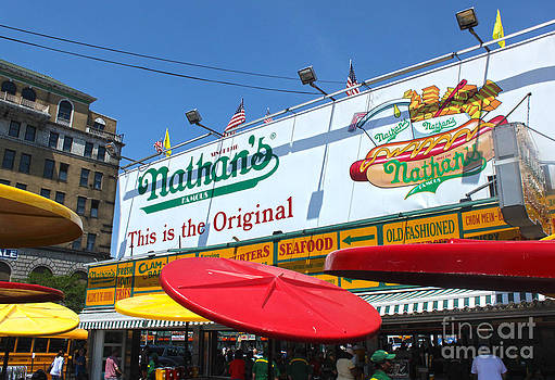 Gregory Dyer - Coney Island Nathans Hot Dogs