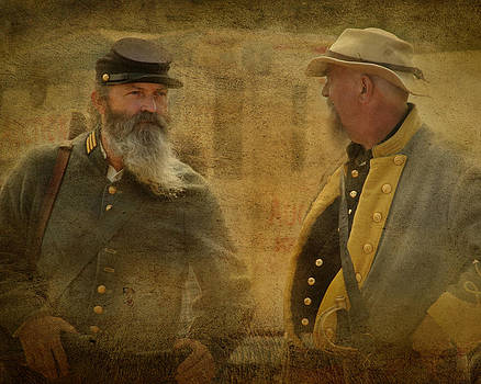 Confederate Soldiers by Teresa Moore