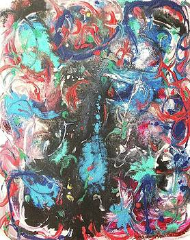Suzanne  Marie Leclair - Confusion Dark Blue
