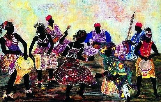 Congo square by Aziz Diagne