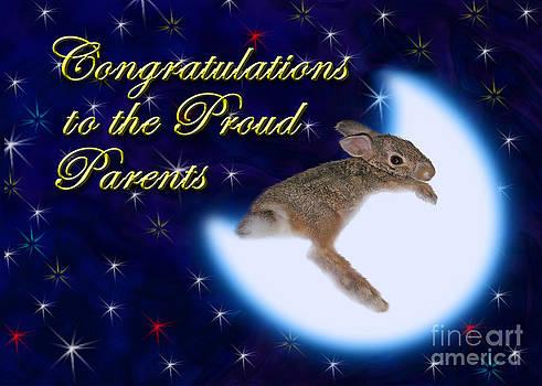 Jeanette K - Congratulations to the Proud Parents Bunny Rabbit