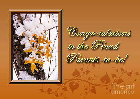 Jeanette K - Congratulations to the Proud Parents to be Leaves