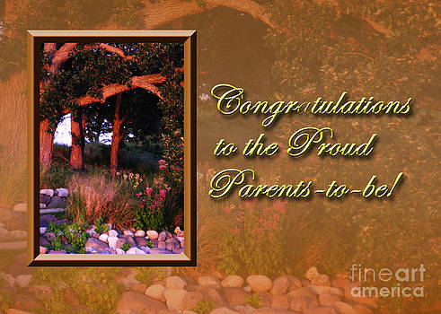 Jeanette K - Congratulations to the Proud Parents to be Woods