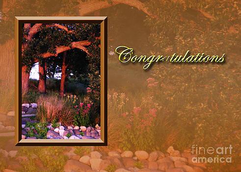 Jeanette K - Congratulations Woods