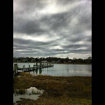 #connecticut #mystic #lake #cold #pier by Shawn Who