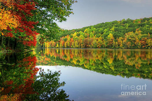 Connecticut River in Autumn by David Birchall