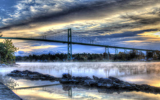 Connecting Bridge by Sharon Batdorf