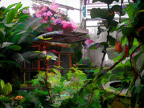 Conservatory at the Fort Worth Botanic Garden by Janet Maloy