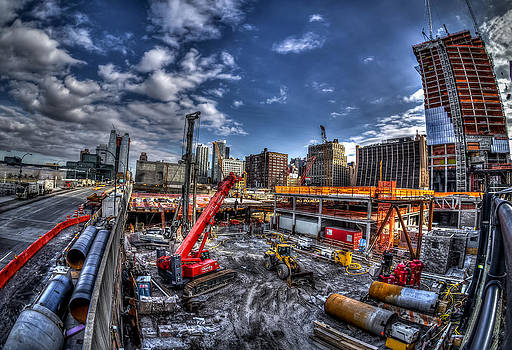 Constructing New York City by Rafael Quirindongo
