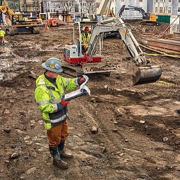 #construction #seattle by Ron Greer