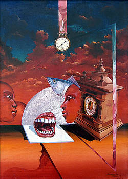 Consumption Of Time  by Otto Rapp