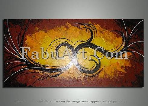 Contemporary Art Paintings  by FabuArt