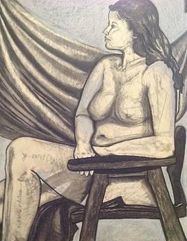 Contrapostal Study- feminist? Femininity? by Kerrie B Wrye