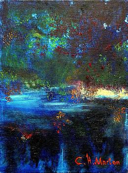 Cool Blue by Clara H Marton