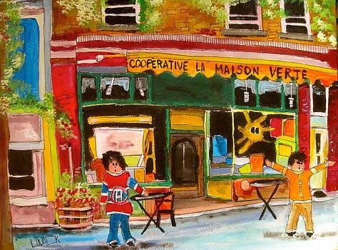 Cooperative la Maison Verte by Michael Litvack