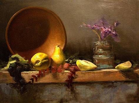 Copper and Pears by Tiago  Finato