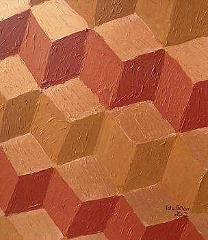 Copper Cubes by Tate Fallon