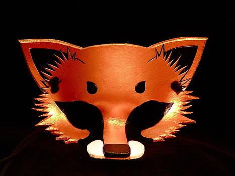 Copper Fox Mask by Fibi Bell