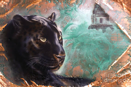 Copper Jaguar by Sandi Baker