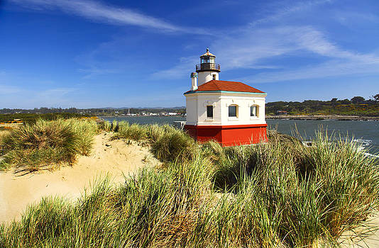 Coquille river lighthouse by Joe Klune