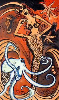 Coral Atlantis Mermaid  by Helen Gerro