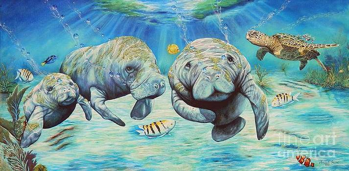 Coral Kingdom Waltz by Amanda Hukill