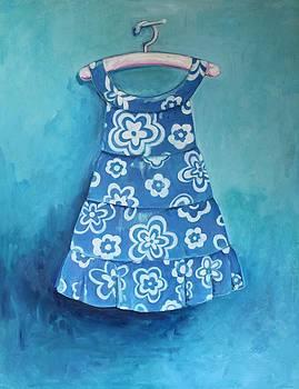 Cora's Blue Dress by Genevieve Smith
