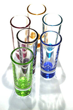 Cordial glasses by Paul Thomas