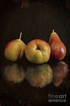 Still Life- Corella Pears by Feryal Faye Berber
