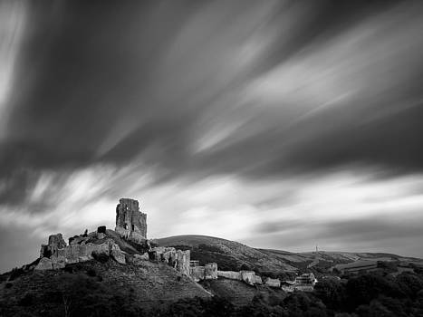 Corfe Castle by Vinicios De Moura