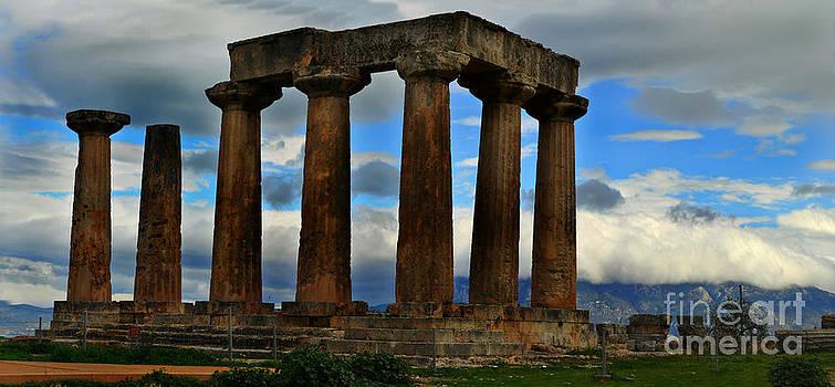 Corinth Pillars by Eric Liller