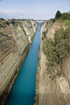 Corinthian Canal by Cliff C Morris Jr