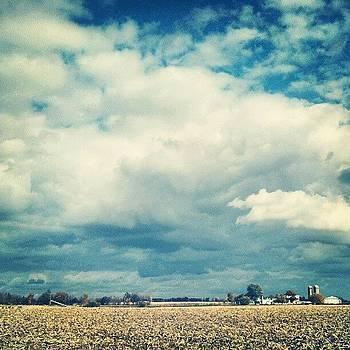 Corn's In... #hoosierskies by Sandy MacGowan