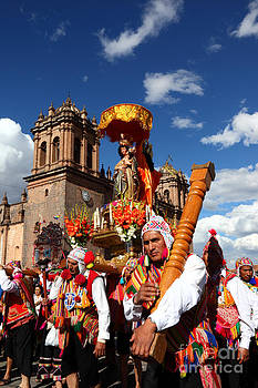 James Brunker - Corpus Christi Parade in Cusco
