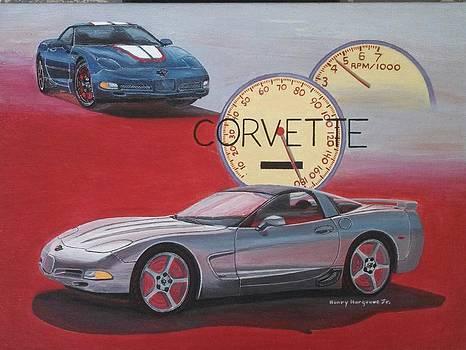 Corvette by Henry Hargrove